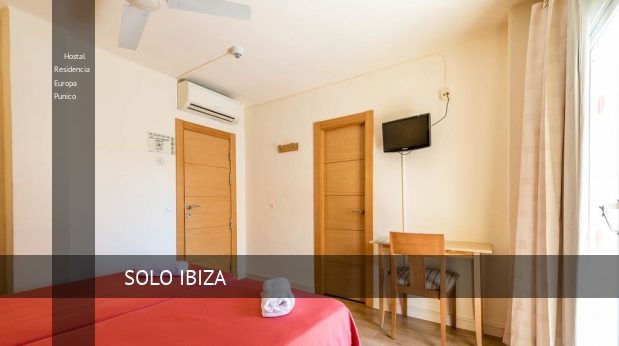 Hostal Residencia Europa Punico booking