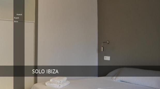 Hostal Ripoll Ibiza booking