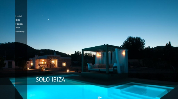 Hostal Ibiza Holliday Villa Harmony reverva
