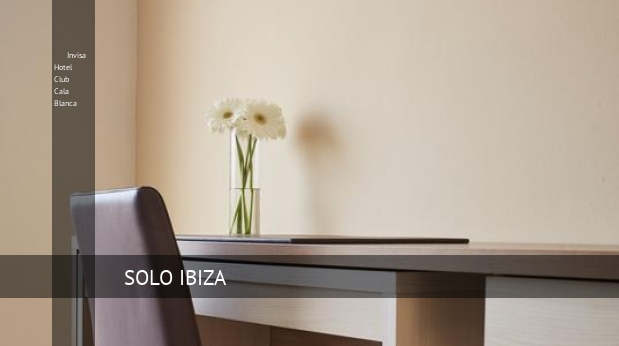Invisa Hotel Club Cala Blanca habitaciones