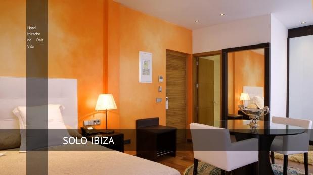 Hotel Mirador de Dalt Vila reservas