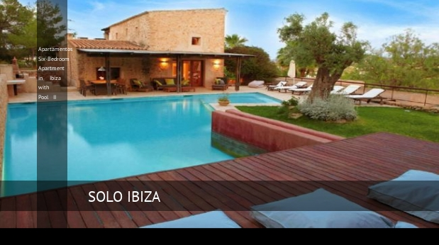 Apartamentos Six-Bedroom Apartment in Ibiza with Pool II opiniones
