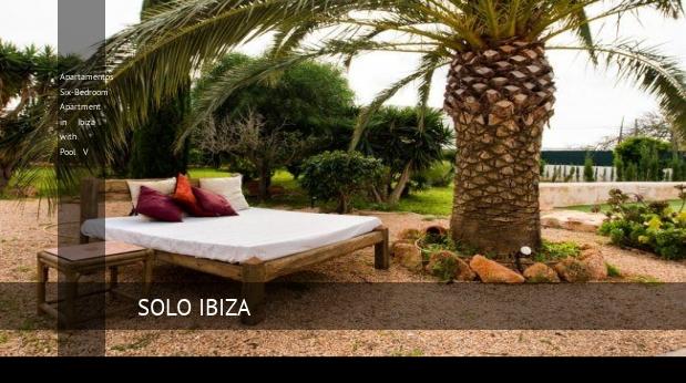 Apartamentos Six-Bedroom Apartment in Ibiza with Pool V opiniones