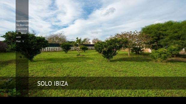 Apartamentos Six-Bedroom Apartment in Ibiza with Pool V reverva