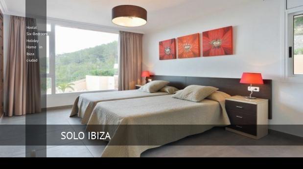 Hostal Six-Bedroom Holiday Home in Ibiza ciudad reverva