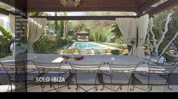 Hostal Six-Bedroom Villa in Joan de Labritja / San Juan opiniones