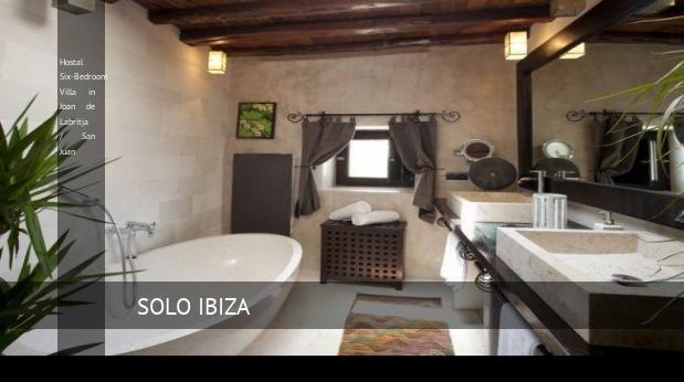 Hostal Six-Bedroom Villa in Joan de Labritja / San Juan reverva