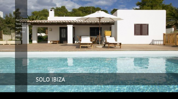 Apartamentos Three-Bedroom Apartment in Ibiza with Pool I opiniones