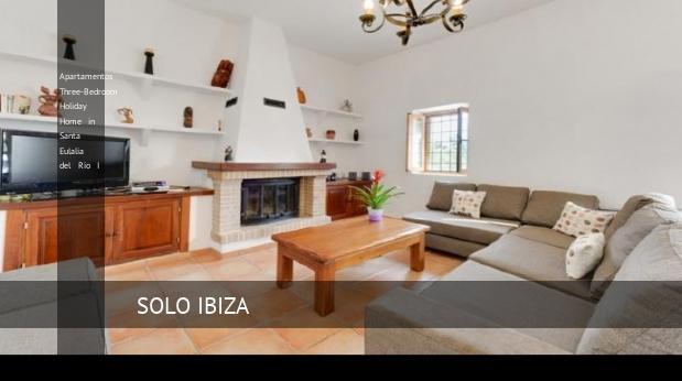 Apartamentos Three-Bedroom Holiday Home in Santa Eulalia del Río I reverva