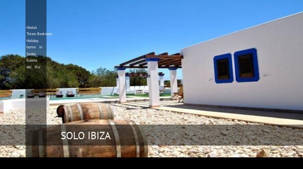 Hostal Three-Bedroom Holiday home in Santa Eulalia del Río reverva