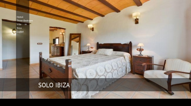 Hostal Three-Bedroom Villa in Ibiza ciudad opiniones