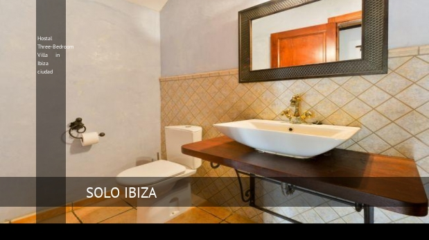 Hostal Three-Bedroom Villa in Ibiza ciudad reverva