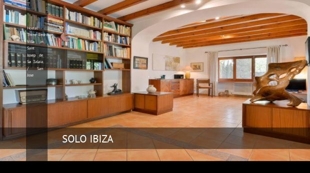 Hostal Three-Bedroom Villa in Sant Josep de Sa Talaia / San Jose opiniones