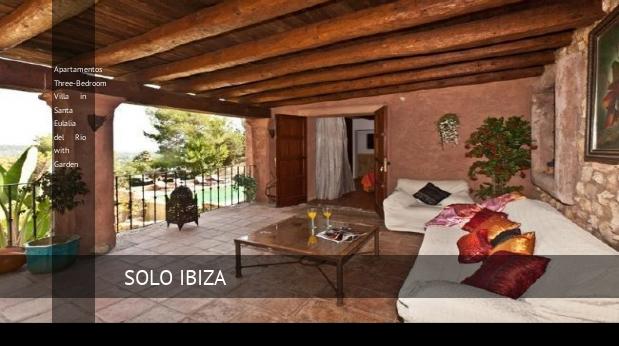 Apartamentos Three-Bedroom Villa in Santa Eulalia del Río with Garden reverva