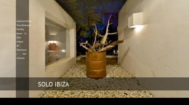 Apartamentos Two-Bedroom Holiday home in Sant Antoni de Portmany / San Antonio reverva