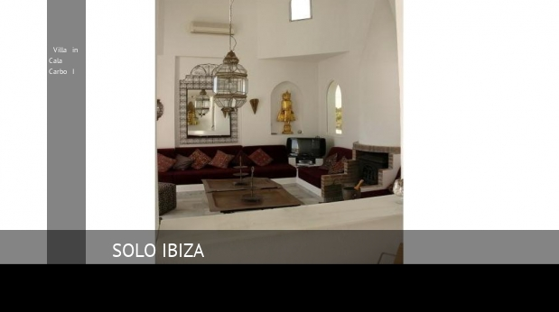 Villa in Cala Carbo I booking
