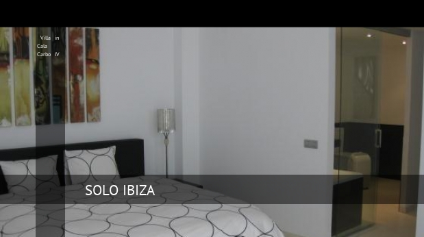 Villa in Cala Carbo IV booking