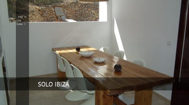 Villa in Cala Conta I booking