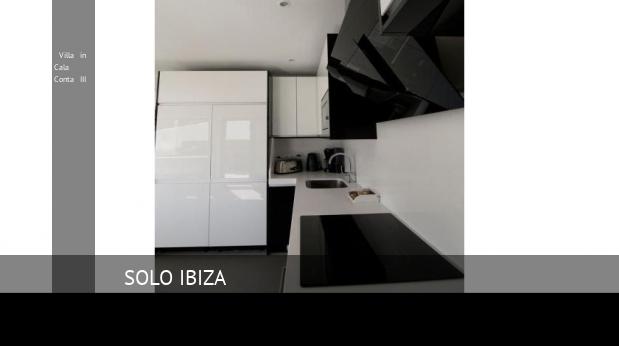 Villa in Cala Conta III booking