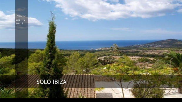 Villa in Cala D Hort I booking