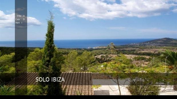 Villa in Cala D Hort I booking