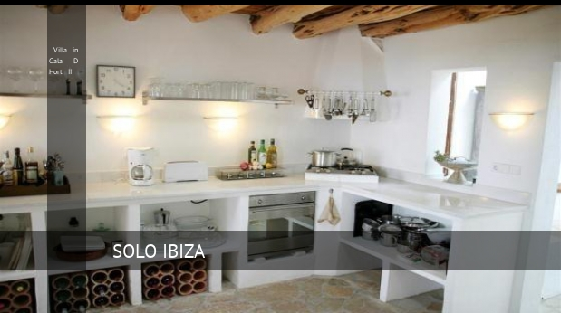 Villa in Cala D Hort II booking