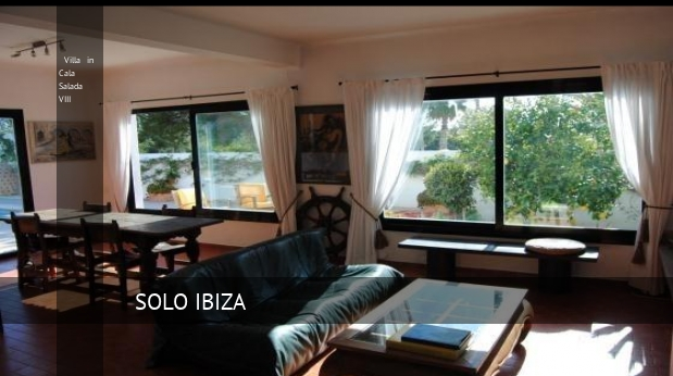 Villa in Cala Salada VIII booking