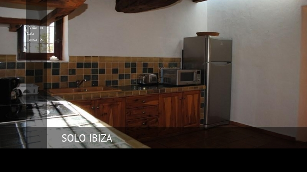 Villa in Cala Tarida X booking