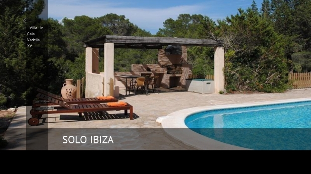 Villa in Cala Vadella XV booking