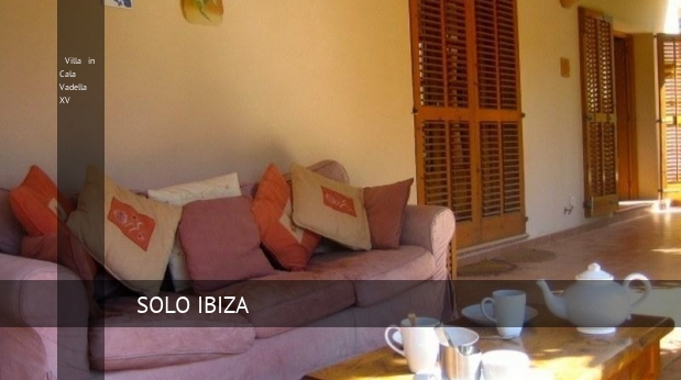 Villa in Cala Vadella XV reverva