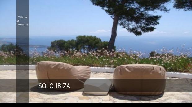 Villa in Es Cubells II booking