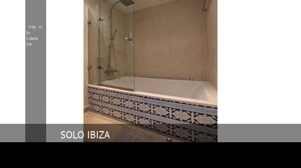 Villa in Es Cubells VIII booking
