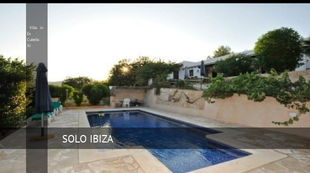 Villa in Es Cubells XI reverva