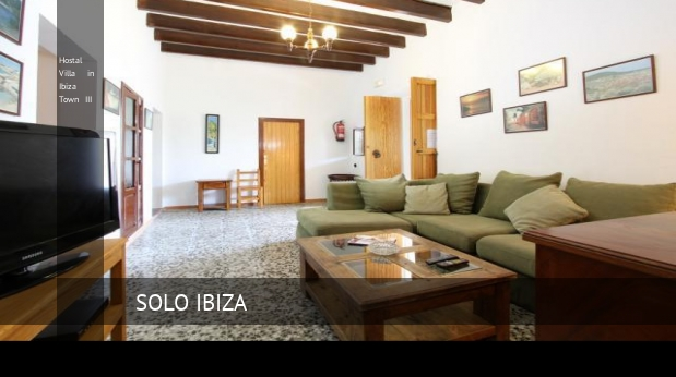 Hostal Villa in Ibiza Town III booking