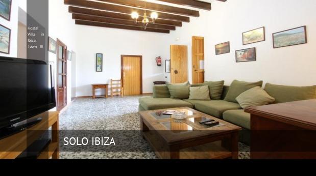 Hostal Villa in Ibiza Town III booking