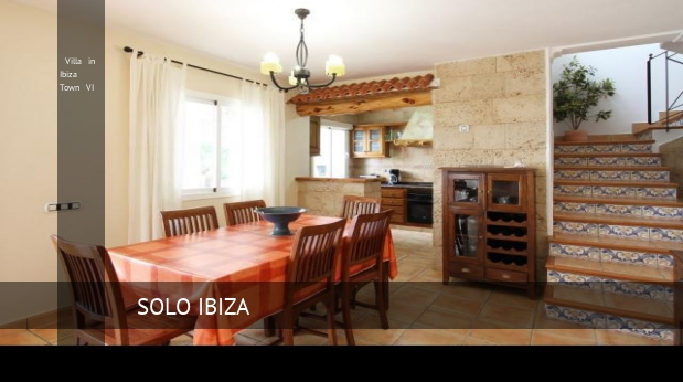 Villa in Ibiza Town VI booking