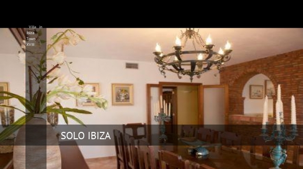 Villa in Ibiza Town XVIII booking