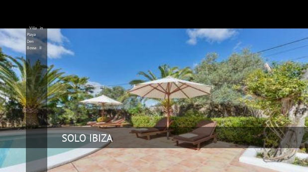 Villa in Playa Den Bossa II booking