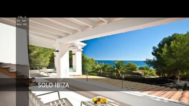 Villa in San Jose Ibiza XIV booking