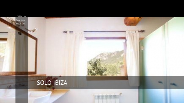 Villa in San Jose Ibiza XX booking