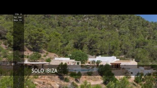 Villa in San Jose Ibiza XX reverva