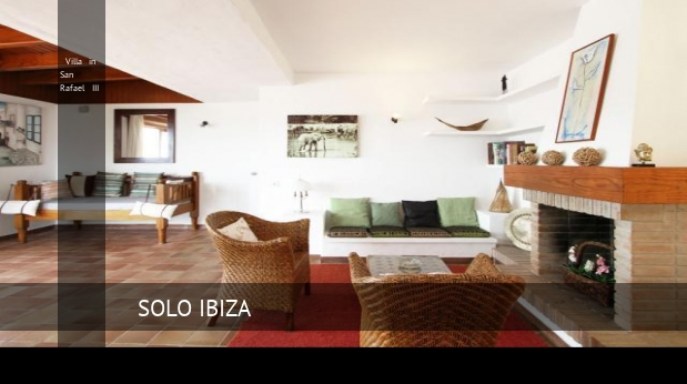 Villa in San Rafael III booking