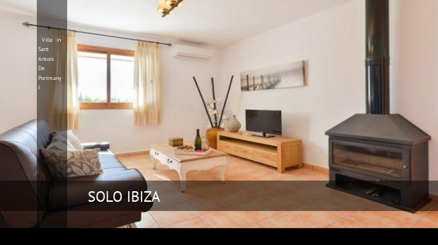 Villa in Sant Antoni De Portmany I booking