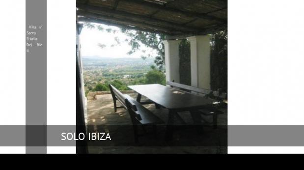 Villa in Santa Eulalia Del Rio II booking