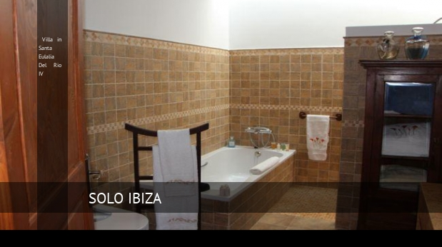 Villa in Santa Eulalia Del Rio IV booking