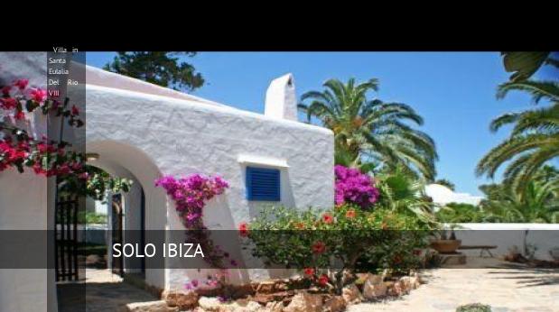 Villa in Santa Eulalia Del Rio VIII booking