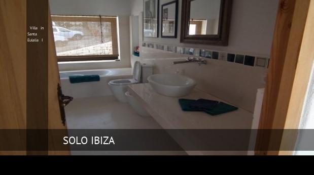Villa in Santa Eulalia I booking