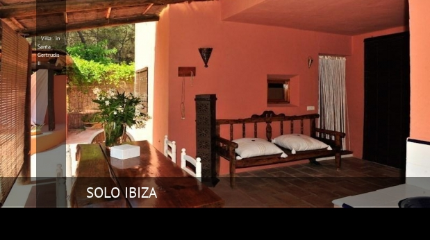 Villa in Santa Gertrudis II booking