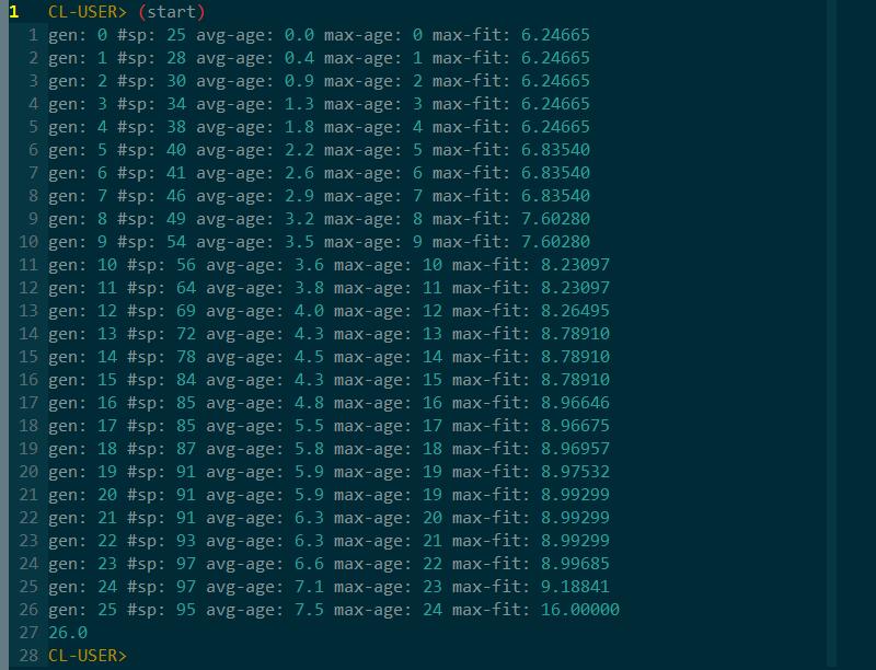 Evolving network to be XOR-like