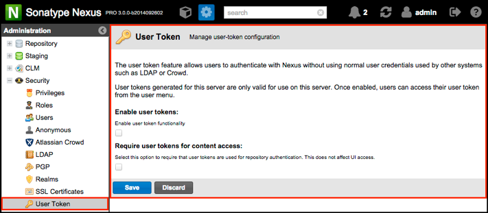 nexus pro 3 milestone 2 user token config